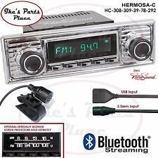 RetroSound Hermosa-C Radio/Bluetooth/USB/Mp3/3.5mm AUX-In 4 ipod-308-309-VW