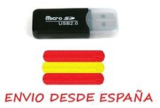 USB 2.0 Lector de tarjetas micro SD - TF Color Negro
