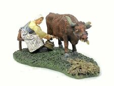 Williamsburg Collectibles Lang & Wise Dairymaid Milking 30489711