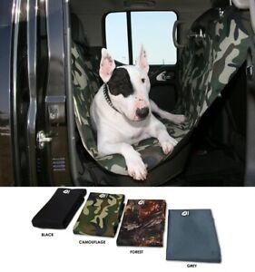 dog pet back seat car cover - black large