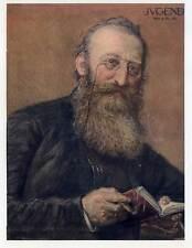 Ludwig Anzengruber-Portrait-Titelblatt aus Münchner Jugend 1905 Ludwig Michalek