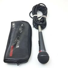 Vintage Shure PE15H Dynamic Vocal Microphone With Cord And Case