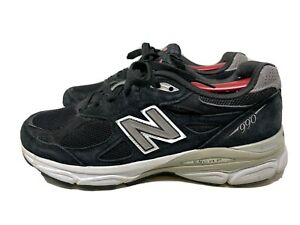 New Balance 990 Black Walking Shoes W/ Arch Support Insoles Womens Size 9