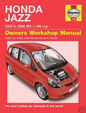 Manual de taller de coches Honda