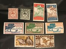 NEW CALEDONIA  postage stamps lot of 9 old