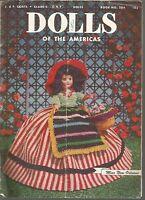 Dolls of The Americas J & P Coats Clark's O. N. T. Dolls Book No 284 PB 1952