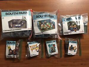 South Park - McFarlane Toys Building Blocks Complete 7 Sets - Cartman's Basement