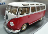 VW Microbus 1962 escala 1/24 Welly Collection