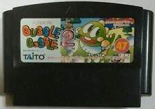 Bubble Bobble 2 Nintendo Famicom Japan Import Rare