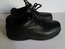 Rockport Works RK6761 Leather World Tour Oxford Shoes Steel Toe Men's 10W Black