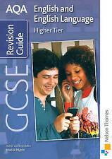 AQA GCSE English and English Language Higher Revision Guide by Brian Conroy,...