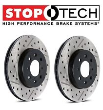 Toyota RAV 4 Set of Front Left and Right StopTech Drilled & Slotted Brake Rotors