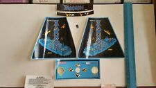 Pre cut decals for vintage electronic coleco tabletop mini arcade zaxxon