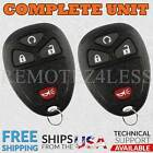 2 For 2005 2006 2007 2008 2009 Chevrolet Uplander 4b Keyless Entry Remote Fob