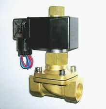 "1/2"" Electric Solenoid Valve 12-V DC NORMALLY OPEN"