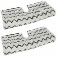 2 Pack Steam Mop Pad Clean Cloth Pad for Shark S6001UK S6003UK S3973 Klik n Flip