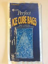 PERFECT ICE CUBE BAGS by CADIE 3 Pack(30 Bags)