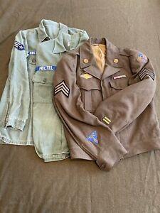 Original American US World War Two Era Uniform Grouping, 8th Air Force