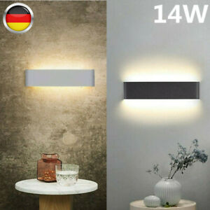 14w LED Wandleuchte Wandlampe Flur Strahler Up Down Außen/Innen Beleuchtung DE
