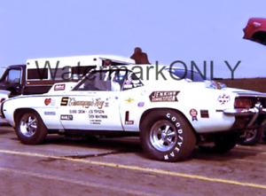"""Bill ""Grumpy"" Jenkins"" 1969 Chevy Camaro Pro Stocker PHOTO! #(8)"