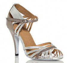 New Women ballroom Latin salsa bachata dance shoes High Heels ALL SIZE
