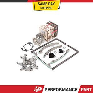 Timing Chain Kit Water Oil Pump for Infiniti Nissan Pathfinder Titan VK56DE