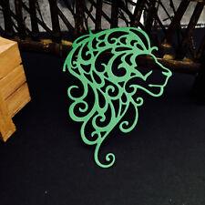 Christmas Design Metal Cutting Dies Stencil Scrapbooking Lion head 71*91mm 1PCS