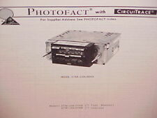 1977 FORD LINCOLN CONTINENTAL MERCURY 8-TRACK TAPE/AM-FM RADIO SERVICE MANUAL