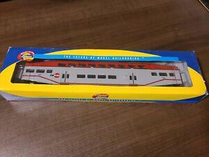 Athearn 2568 Caltrain Bombardier Control Car #223 HO Scale Train (A55)