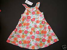 NWT Gymboree Tropical Garden Floral Ruffle Dress 2T