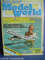RCMW RC MODEL WORLD MAY 1988 KATIE HATCHER P 38 LIGHTNING PLAN PART 1 JET PROVOS