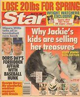 MARCH 26 1996 STAR vintage tabloid magazine JACKIE KENNEDY - MAURY WILLIS