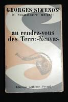 MAIGRET AU RENDEZ VOUS DES TERRE NEUVAS,SIMENON,1962