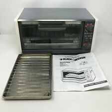 Black & Decker Spacemaker Toast-R-Oven Toaster Oven TRO 405 TY4 w Rack Pan WORKS