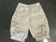 Temperley London New & Genuine Ladies UK Size 8 Silver Linen Blend Shorts