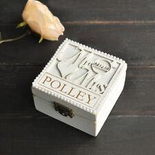 Custom Wedding Ring Holder, Personalized Ring Bearer Box, Custom Wooden Ring Box