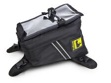 Wolfman Luggage Enduro Tank Bag Black EXC XC RMZ CRF YZF KXF NEW