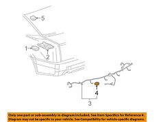 Cadillac GM OEM STS Parking Backup Back Up Reverse Distance-Sensor 88956561