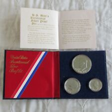 USA 1976 s BICENTENNIAL SILVER PROOF SET - in presentation folder with coa