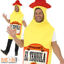 Tequila Bottle Fancy Dress Costume Mexican Party Outfit Idea Smiffys 22592