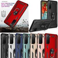 Pour Samsung Galaxy S21 5G Étui,Antichoc Bague Armure Pied Rigide Étui Téléphone