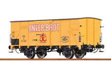 """BRAWA H0 49058 – CARRO MERCI G10 """"ANKER BROT"""" – OBB Ep. III"""