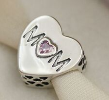 GENUINE PANDORA MUM MOTHER HEART OPENWORK CHARM 791881PCZ
