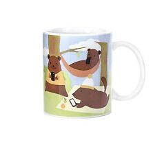 Kikkerland 12oz Bear Story Mug Modern Animals Stories Microwavable Lovely Gift