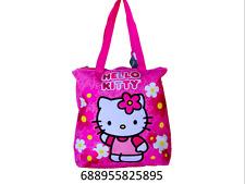f1145b41b5 Tote Bag - Hello Kitty - Flowers Pink Gifts Girls Hand Purse 82589