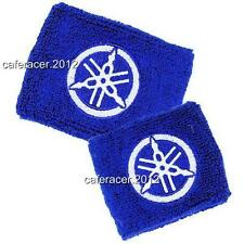 YAMAHA BRAKE/CLUTCH RESERVOIR SOCKS FLUID TANK OIL CUP COVER SET YZF R1 R6 BLUE