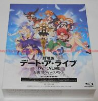 Date A Live Movie Mayuri Judgment Limited Edition Blu-ray Novel GuideBook Japan