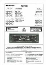 Blaupunkt Service Manual für  Ravenna C 32  DJ 32  CD 32 C 52 DJ 52 CD 52