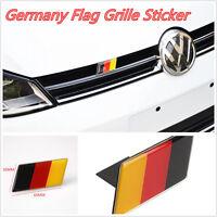 1 x Universal German Flag Grille Emblem Badge Sticker for VW Jetta Golf Audi