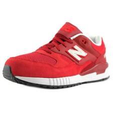 Scarpe scarpe da ginnastici rossi marca New Balance per bambini dai 2 ai 16 anni